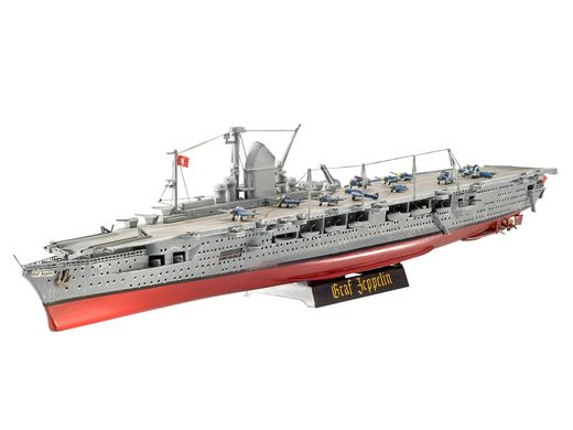 Maquette navire militaire : Porte-Avions Allemand Graf Zep - 1/720 - Revell 5164 05164