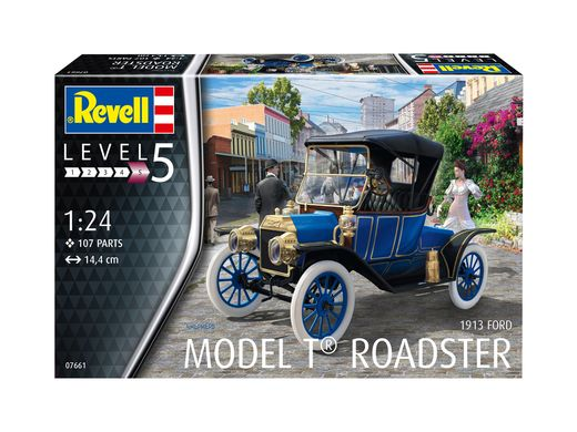 Maquette voiture : Ford T Modell Roadster (1913) - 1:24 - Revell 07661, 7661