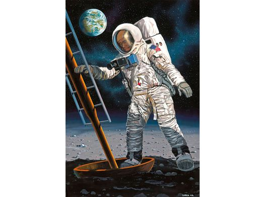 "Maquette collection spatiale : Apollo 11 ""Astronaute Sur La Lune"" - 1/8 - Revell 3702 03702"