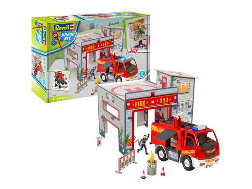 "Junior kit : Playset ""Caserne de Pompiers'' 2019 - 1:20 - Revell 00852, 852"