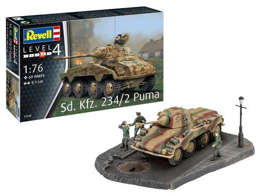 Maquette militaire : Sd.Kfz. 234/2 Puma - 1:76 - Revell 3288 03288