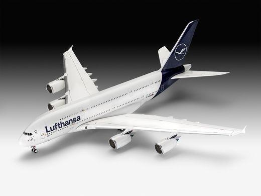 Maquette avion civil : Airbus A380-800 Lufthansa Nelle Livrée - 1:144 - Revell 3872 03872