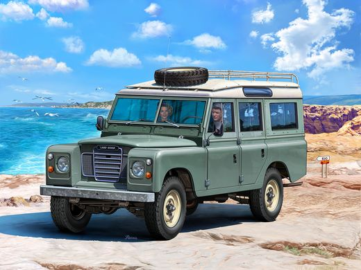 Maquette Easy click : Land Rover Series Iii - 1:24 - Maquette de voiture : Land Rover Series III - 1:24 - Revell 07047, 7047Revell 07047, 7047