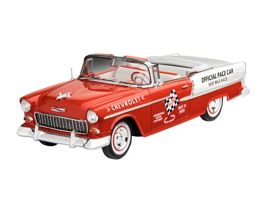 Maquette voiture : Model set 1955 Chevy Indy Pace Carr - 1/25 - Revell 67686