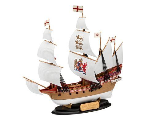 Maquette de voilier : Model set Hms Revenge - 1/350 - Revell 65661