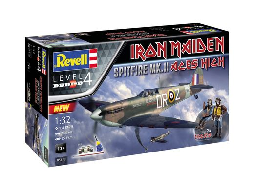 "Maquette avion militaire : Spitfire Mk.Ii ""Aces High"" Iron Maiden - 1:32 - Revell 5688 05688"