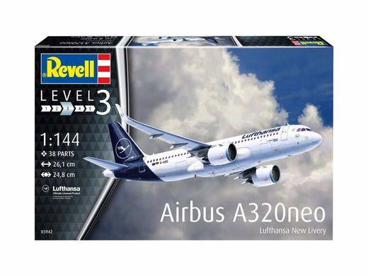 Maquette avion civil : Airbus A320 Neo - 1:144 - Revell 03942, 3942