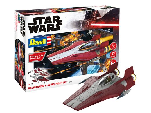 Maquette Star Wars : Build & PlayResistance A-WING Figter - Revell 06770