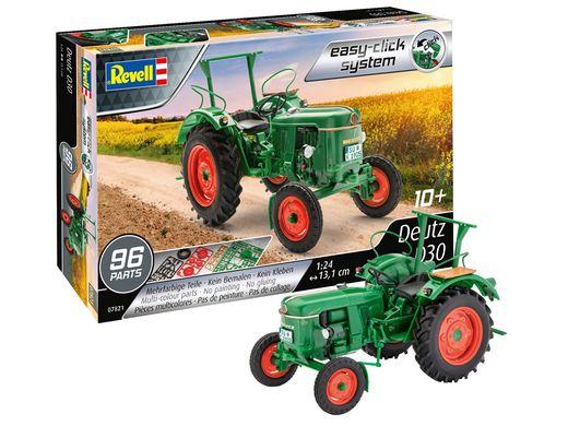 Maquette tracteur : Deutz D30 - 1/24 - Revell 7821 07821