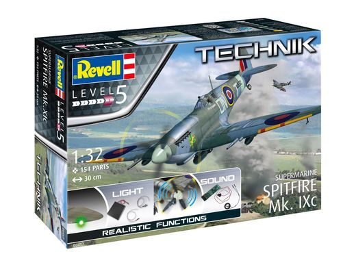 Maquette avion : Supermarine Spitfire Mk.IXc - 1:32 - Revell 0457, 457 - france-maquette.fr