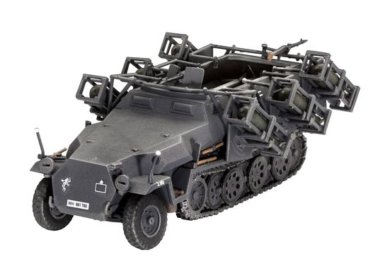 Maquette véhicule militaire : Sd.Kfz. 251/1 Ausf. C + Wurfr. 4 1:72 - Revell 03324, 3324 - france-maquette.fr