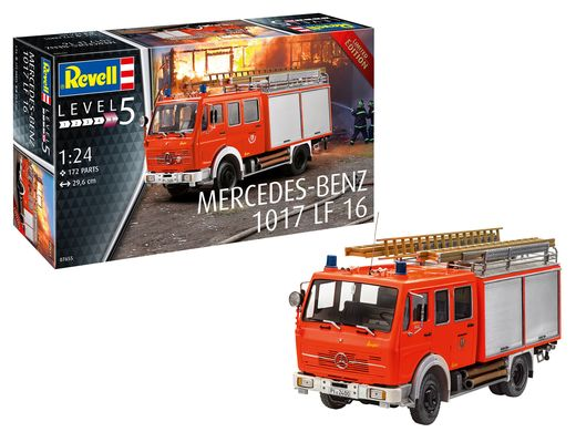 Maquette camion : Mercedes-Benz 1017 LF 16 1:24 - Revell 07655, 7655 - france-maquette.fr