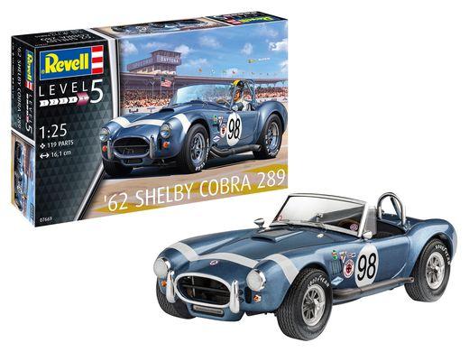 Maquette voiture de course : AC Cobra 289 - 1:25 - Revell 07669, 7669 - france-maquette.fr