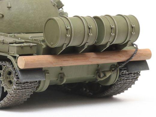 Maquette char d'assaut : Russian Medium Tank T-55 - 1/48 - Tamiya 32598 - france-maquette.fr