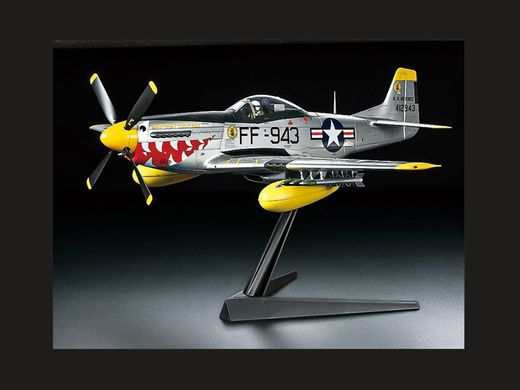 Maquette avion militaire : North American F-51D Mustang - 1/32 -Tamiya 60328 - france-maquette.fr
