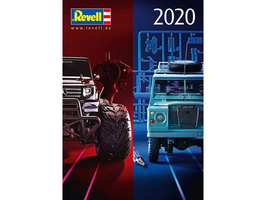 Dernier catalogue de maquettes Revell 2020
