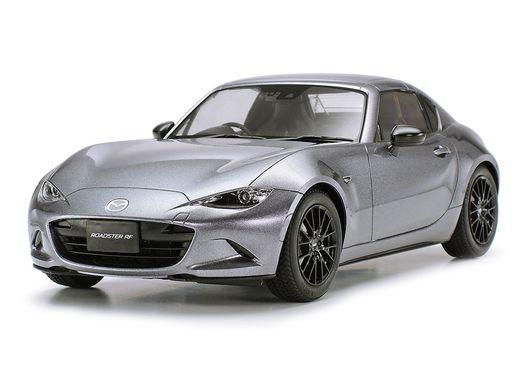 Maquette de voiture de sport : Mazda MX-5 RF - 1/24 - Tamiya 24353 - france-maquette.fr