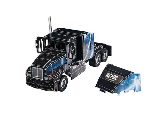 Maquette camion : Puzzle 3D AC/DC Tour Truck - Revell 0172, 172 - france-maquette.fr