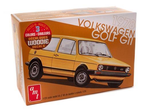 Maquette voiture : 1978 Volkswagen Golf GTI - 1:24 - AMT 592213