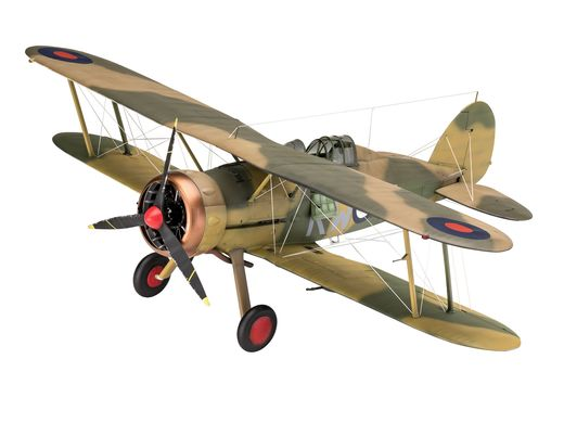 Maquette Avion : Gloster Gladiator Mk. II - 1:32 - Revell 03846, 3846