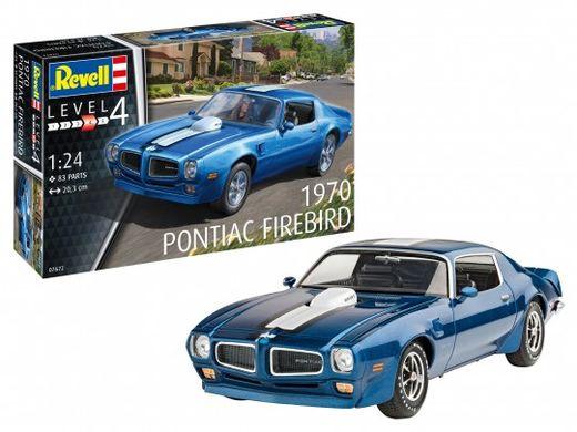 Maquette voiture : 1970 Pontiac Firebird - 1:24 - Revell 07672, 7672