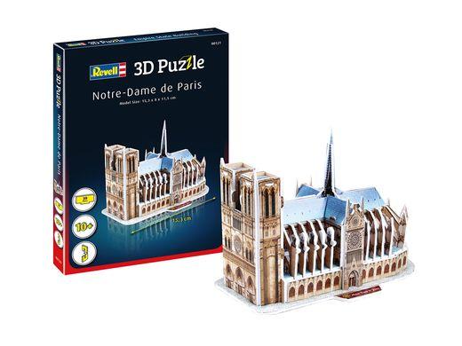 Maquette Puzzle 3D : Notre-Dame De Paris - Revell 0121, 121