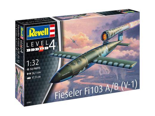 Maquette avion missile : Fieseler Fi103 V-1 - 1:32 - Revell 03861, 3861