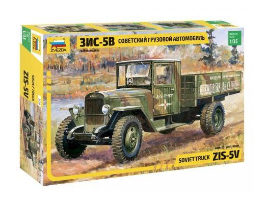 Maquette militaire : Camion ZIS‐5V Soviétique - 1/35 - Zvezda 3529 03529