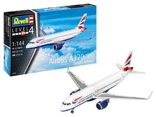 Maquette Avion : Airbus A320 Neo British Airways - 1:144 - Revell 03840, 3840