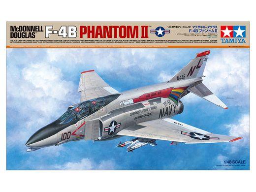 Maquette avion militaire : F‐4B Phantom II - 1:48 - Tamiya 61121