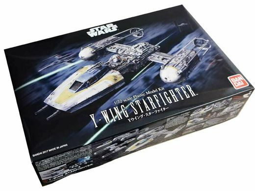 Maquette Star Wars : Y-Wing Starfighter - Bandaï - 1:72 - Revell 01209, 1209