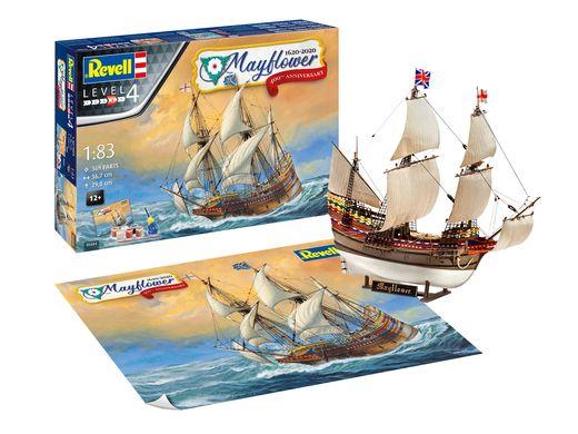 Maquette voilier : Mayflower - 400e Anniversaire - 1:83 - Revell 05684, 5684