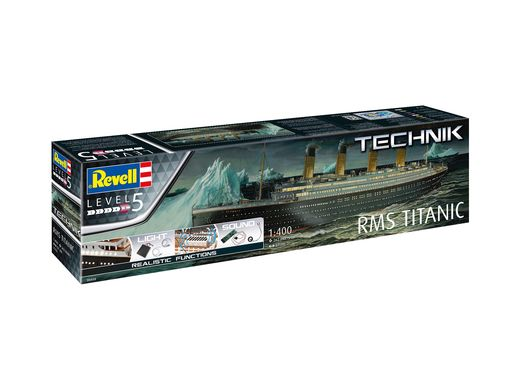 Maquette bâteau RMS Titanic - Technik 1:400 - Revell 0458, 458