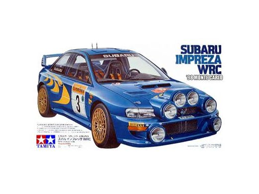 Tamiya 24199 - Subaru Impreza WRC - Monté Carlo - Colin McRae