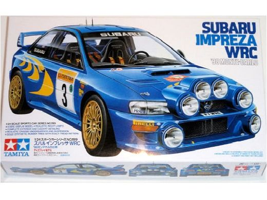 Maquette voiture de course - Subaru Impreza WRC '98 Monte Carlo : Colin McRae - 1/24 - Tamiya 24199