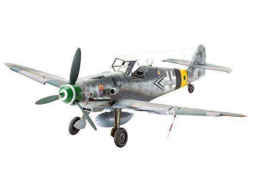 Maquette d'avion : Messerschmitt Bf109 G-6 Late & early version - 1:32 - Revell 04665