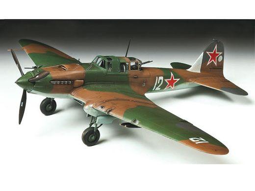 Maquette avion militaire : Il-2 Stourmovik - 1/72 - Tamiya 60781