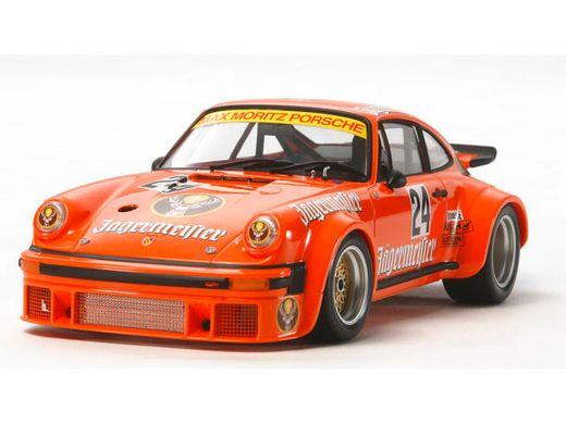 Maquette de voiture de sport : Porsche Turbo RSR Type 934 Jagermeister - 1/24 - Tamiya 24328
