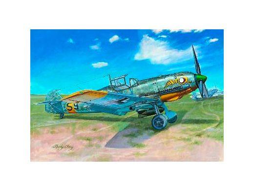 Messerschmitt Bf-109 E-7 - Trumpeter