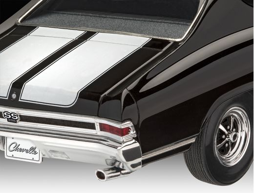 Maquette voiture de collection : 1968 Chevy Chevelle®Ss 396 - 1/25 - Revell 7662 07662