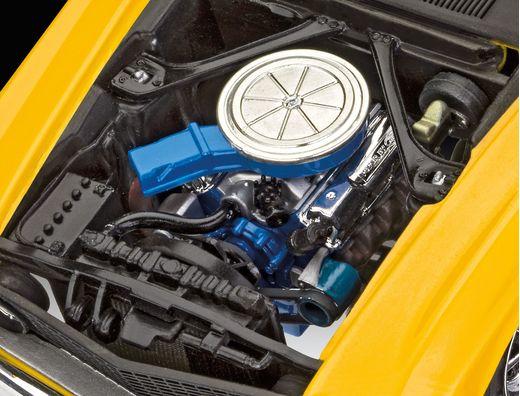 Maquette de voiture : 1969 Boss 302 Mustang - 1/25 - Revell 07025 7025
