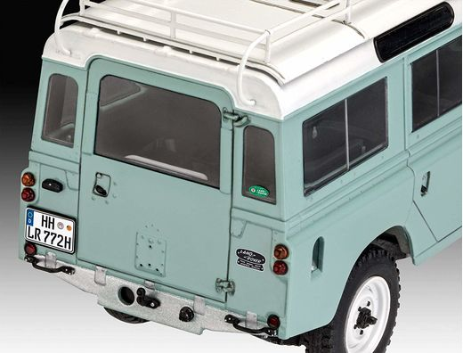 Maquette Easy click : Land Rover Series Iii - 1:24 - Revell 07047, 7047