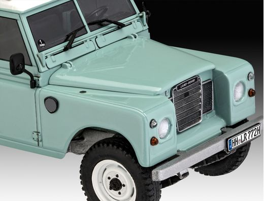 Maquette voiture : Model set Land Rover Series III - 1:24 - Revell 67047Maquette voiture : Model set Land Rover Series III - 1:24 - Revell 67047
