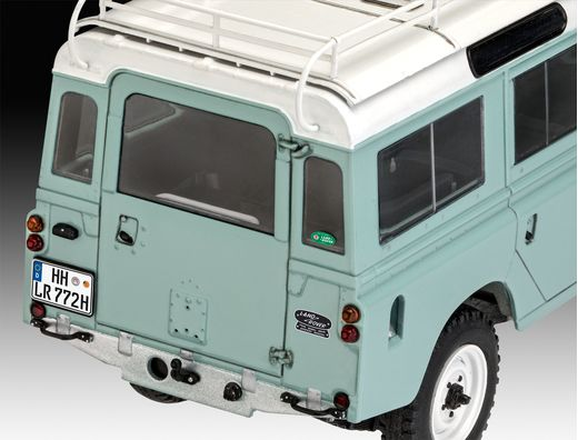 Maquette voiture : Model set Land Rover Series III - 1:24 - Revell 67047