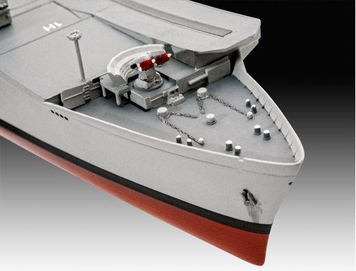 Maquette militaire : Model Set HMS Invincible (Falkland War) - 1:700 - Revell 65172 - france-maquette.fr