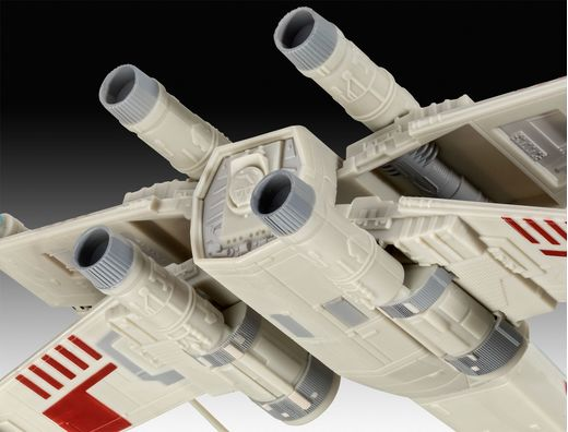 Maquette Star Wars : Model Set X-wing Fighter 1:57 - Revell 66779 - france-maquette.fr