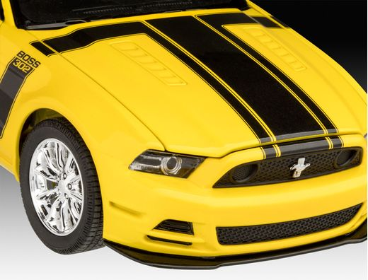 Maquette voiture : Model Set 2013 Ford Mustang Boss - 1:25 - Revell 67652 - france-maquette.fr