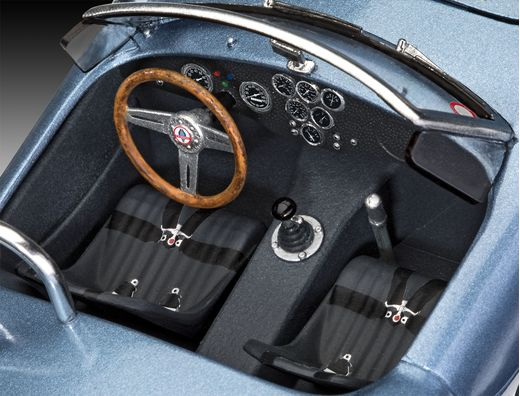 Maquette voiture : Model Set AC Cobra 289 - 1:25 - Revell 67669 - france-maquette.fr