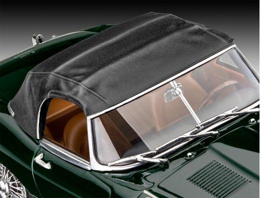 Maquette voiture : Model Set Jaguar E-Type Roadster - 1:24 - Revell 67687
