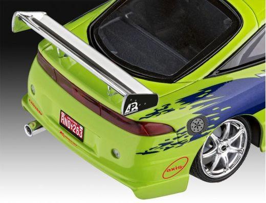 Maquette Voiture : Model Set F&F Brian'S 1995 Mitsubishi Eclipse - 1:25 - Revell 67691